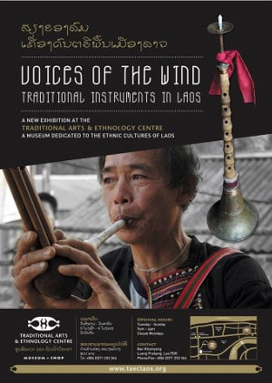 Voices of the Wind: Traditional Instruments in Laos