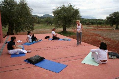 5d2: One of the deep breathing and yoga workshop sessions offered at Eumelia by appointment.