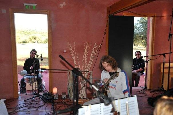 5f1: Snapshot from the days of the CD recording at Eumelia's premises in October 2009