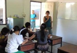 Summary of Andaman Discoveries' 2012 Volunteer Program in Thailand