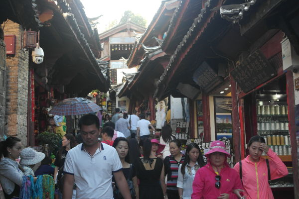 Tourism carrying capacity issues in Lijiang Old Town
