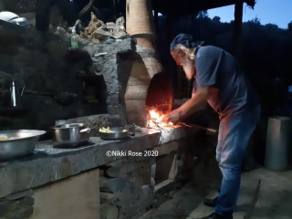 Cooking in Eastern Crete