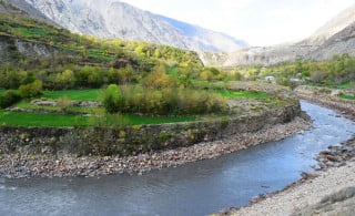 Trekking from Chitral Town to Booni, Upper Chitral, Pakistan