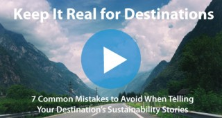 Sustainability Communications for Destinations