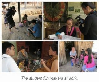 """Stitching Our Stories"" at the Luang Prabang Film Festival!"