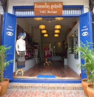 New TAEC Boutique opens in Luang Prabang, Laos