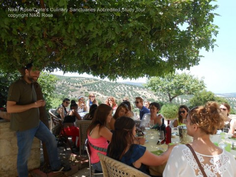 Crete's Culinary Sanctuaries September 2016 Seminar in Crete, Greece in partnership with Center for Responsible Travel