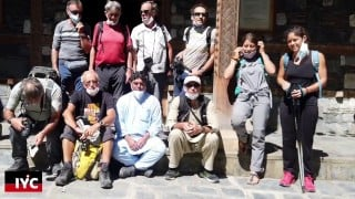 International tourism is recovering after six months, a group of French tourists arrived in Chitral