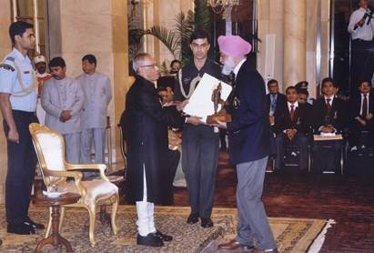 Mandip Singh Soin receives India's highest civilian honour in adventure
