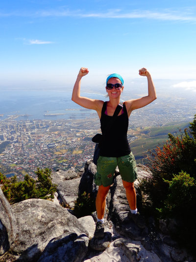 Climbing Cape Town's Table Mountain