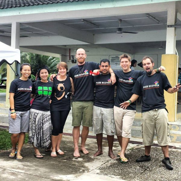 The Ecoteer Team in Merapoh