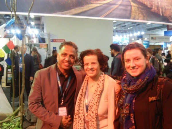 At ITB in Berlin last week I had the great pleasure to meet Ecoclub Members Yugabrata Kar and Alice Malabard of Heritage Tours Orissa http://www.heritagetoursorissa.com. Alice, originally from France, is helping Yugabrata with his efforts to develop community tribal tourism in Orissa. (She was kind enough to let me know that she found the position through our job database!)