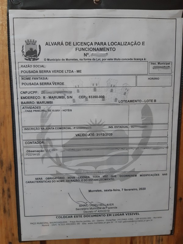 0.12 - Council Licence