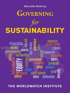State of the World 2014 - Governing for Sustainability