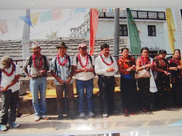 Domestic Tourists in Sirubari