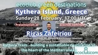 Ecoclub Green Destinations  Kythera Island, Greece