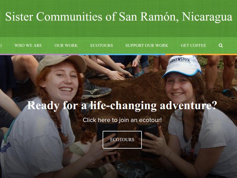 Sister Communities of San Ramón, Nicaragua