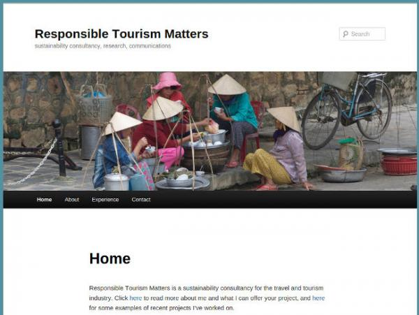 Responsible Tourism Matters