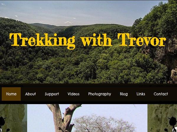 Trekking with Trevor