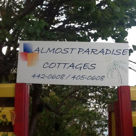 The Entrance to Almost Paradise