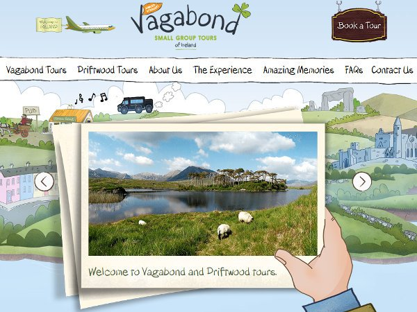 Vagabond  - Tours of Ireland