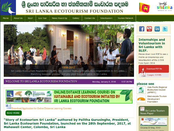 Sri Lanka Ecotourism Foundation (SLEF)
