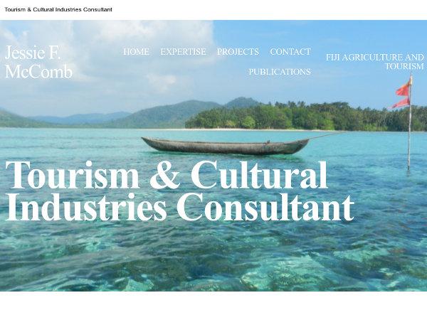 Jessie F. McComb - Tourism Consultant