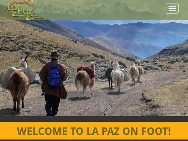 La Paz on Foot