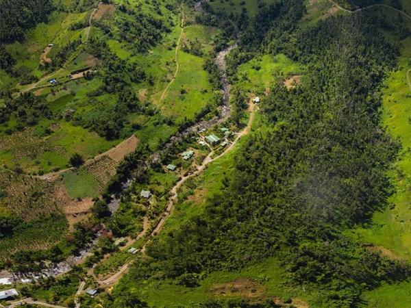 Drone Photo of Citrus Creek Plantation